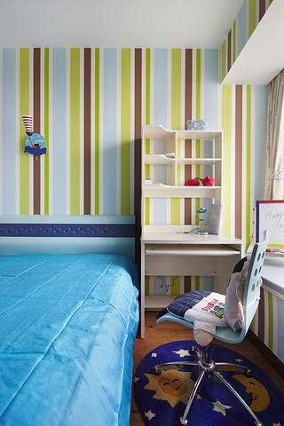 111平简约三室两厅欣赏儿童房陈设