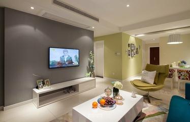 118平简约三居室案例欣赏客厅电视柜