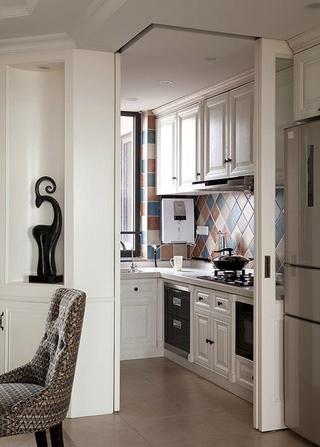时尚精美厨房橱柜效果图 超酷家装
