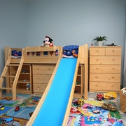 轻松淡雅田园三居室欣赏儿童房