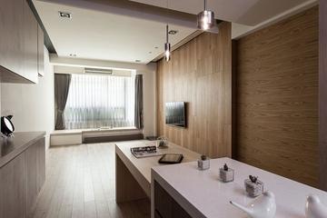 99平日式风格住宅欣赏厨房效果