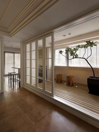 简约现代住宅设计套图阳台