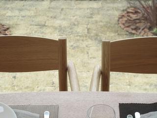 132平日式风格别墅欣赏餐厅局部