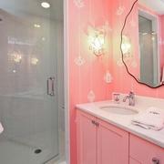 简约风格套图欣赏小孩房卫生间