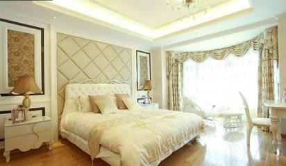 105平奢华欧式住宅欣赏卧室效果