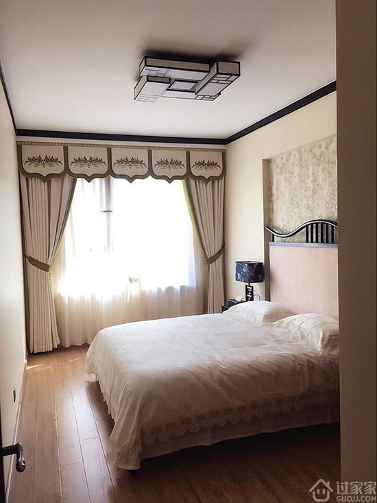 113平三室两厅新中式风格装修
