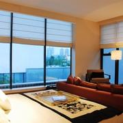 新中式风格卧室一角