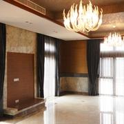 现代别墅硬装设计欣赏客厅局部
