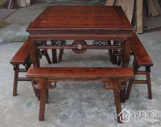 榆木八仙桌的尺寸及选购