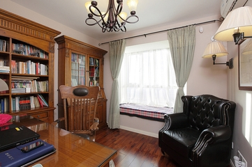 曼妙时光美式住宅欣赏书房设计