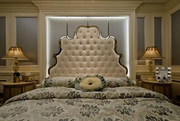 欧式别墅套图卧室床品装饰