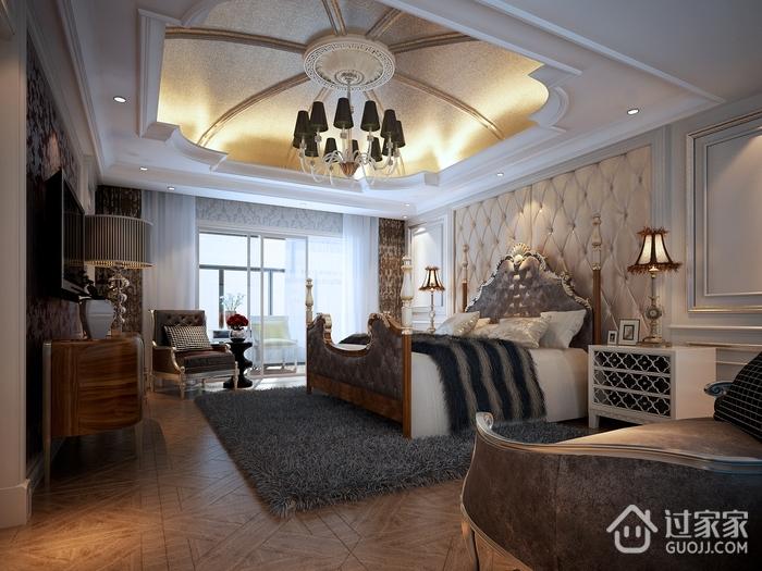 欧式风格装饰住宅套图卧室_过家家装修效果图