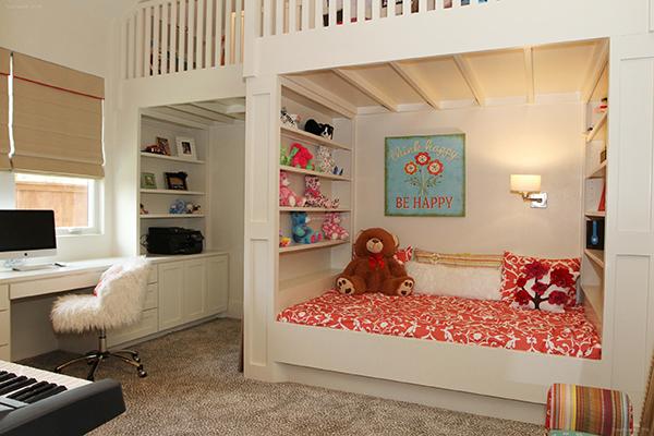 儿童房改造妙招建议,即使二胎来了也不怕不够住!
