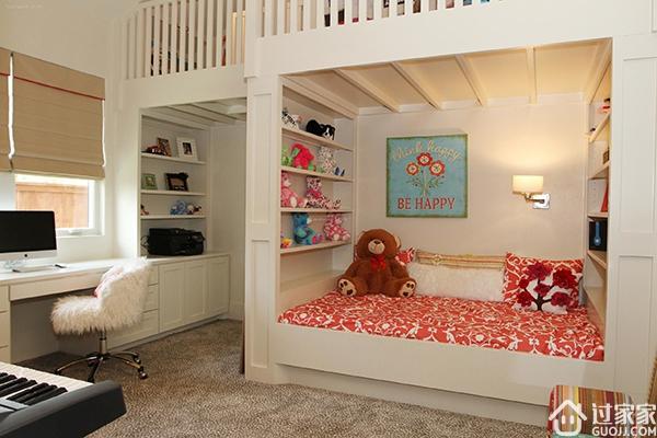 最高环保标准的田园风格儿童房装修设计