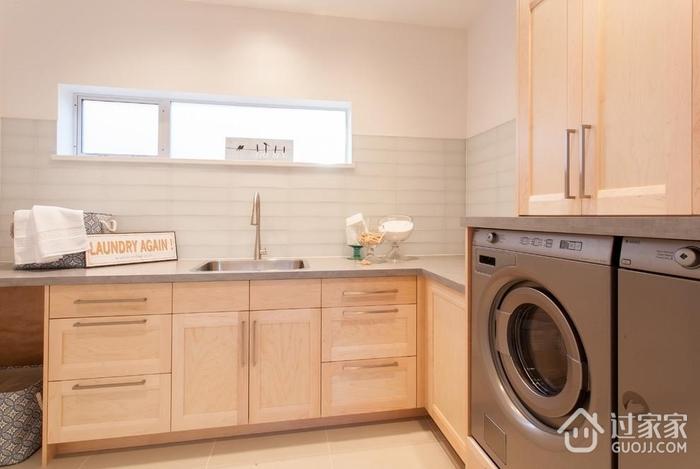 简约风格住宅设计洗衣房