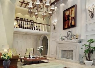 240平白色欧式别墅欣赏