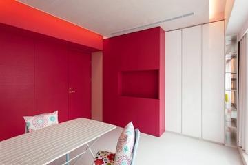 112平浪漫简约住宅欣赏餐厅设计
