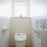 日式清爽复式楼欣赏卫生间