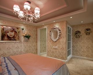 奢华欧式精装住宅欣赏卧室灯饰设计