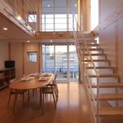 78平清爽日式风欣赏餐厅设计图