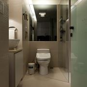 简约风格住宅装饰套图卫生间马桶