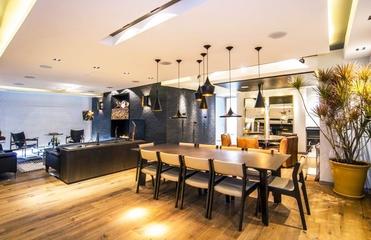 黑色时尚现代住宅欣赏