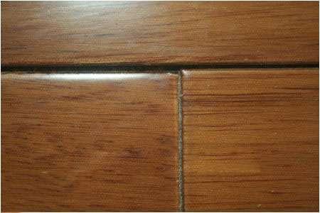 为什么安装后的地板会出现三角缝