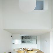 112平日式风格住宅欣赏餐厅