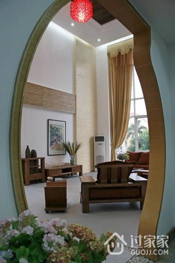 中式风格创意拱形门