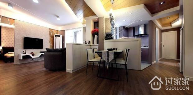 客厅隔断设计效果图 精美简约风格