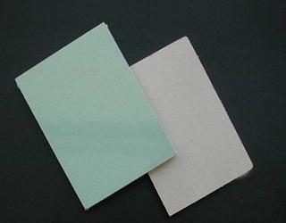 纸面石膏板质量好坏的鉴别方法