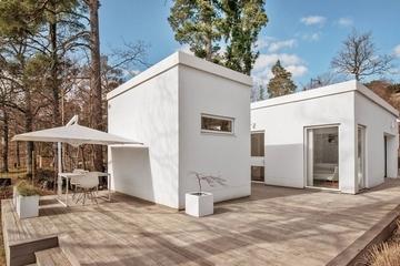 魅力现代自然别墅欣赏露台设计