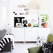 采光超好简约住宅欣赏客厅设计