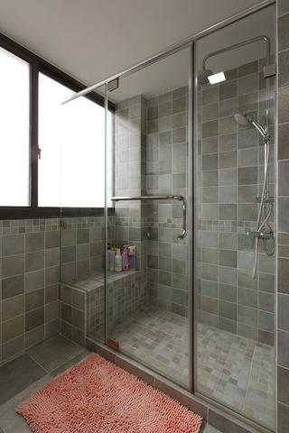 86平美式小清新住宅欣赏卫生间设计