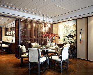雅致中式风格三居室欣赏
