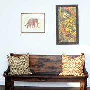 现代室内装饰效果图有框装饰画