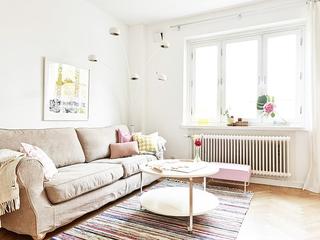 66平米色暖心公寓欣赏