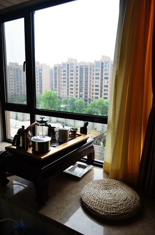 简约舒适阳光三房欣赏餐厅飘窗