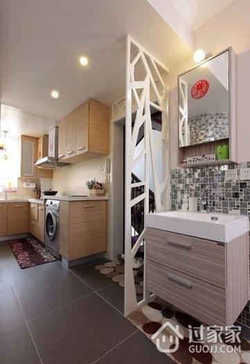50平简约一居住宅欣赏厨房橱柜