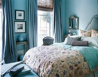 混搭彩色住宅欣赏卧室