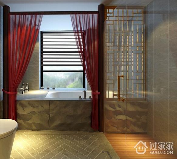 125平潮流新中式三居室欣赏