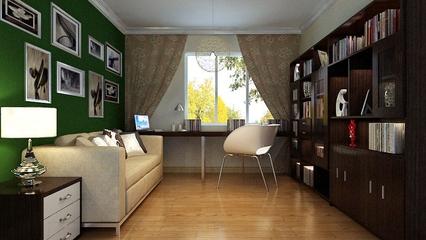 简约舒适两居案例欣赏书房