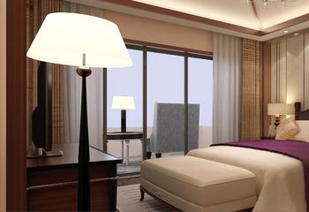 东南亚风住宅三居欣赏卧室灯饰