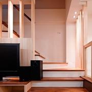 124平日式风格住宅欣赏楼梯间
