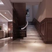 118平新古典三居室欣赏楼梯