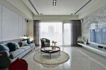 简约风格小清新公寓客厅效果