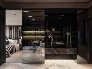 现代墨然住宅设计套图卧室