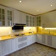 简约舒适三居室案例设计欣赏厨房橱柜