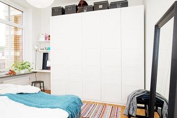 60平米宜家阳光房欣赏卧室陈设
