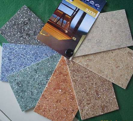 地面材料5,塑料地板   印花压花塑料地板,碎粒花纹地板,发泡塑料